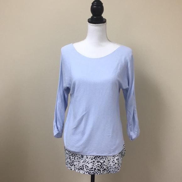 3d2f5651921 LOFT Sweaters - Ann Taylor Loft 2-in-1 Sweater Blouse